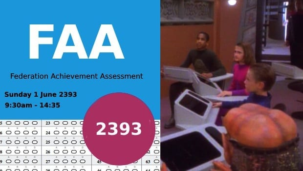 Federation Achievement Assessment achieving very little